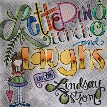 Lettering, Lunch & Laughs with Lindsay Ostrom